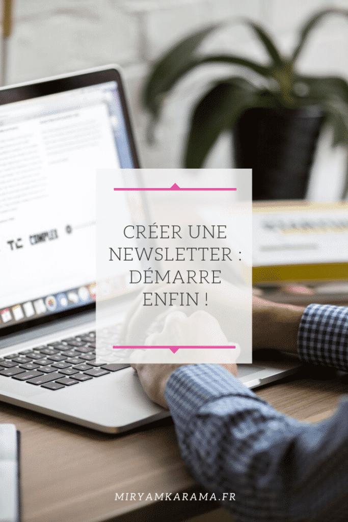 créer une newsletter , envoyer des mails à sa communauté