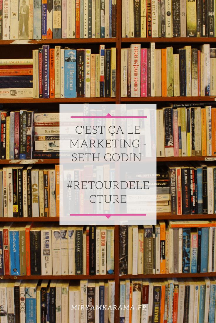 Cest ça le Marketing Seth Godin RetourDeLecture - C'est ça le Marketing - Seth Godin #RetourDeLecture