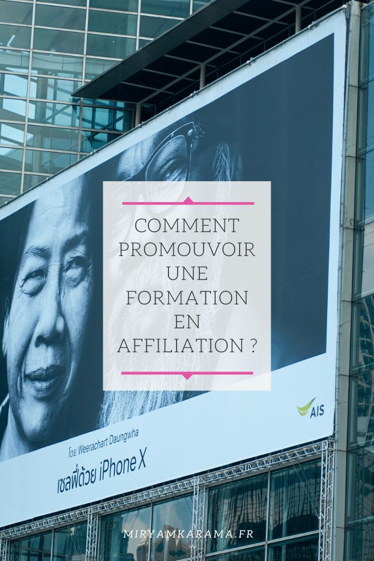Comment promouvoir une formation  QuestionDesLecteurs - Comment promouvoir une formation en affiliation ? #QuestionDesLecteurs